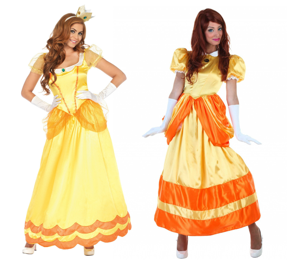 Princess Daisy costumes