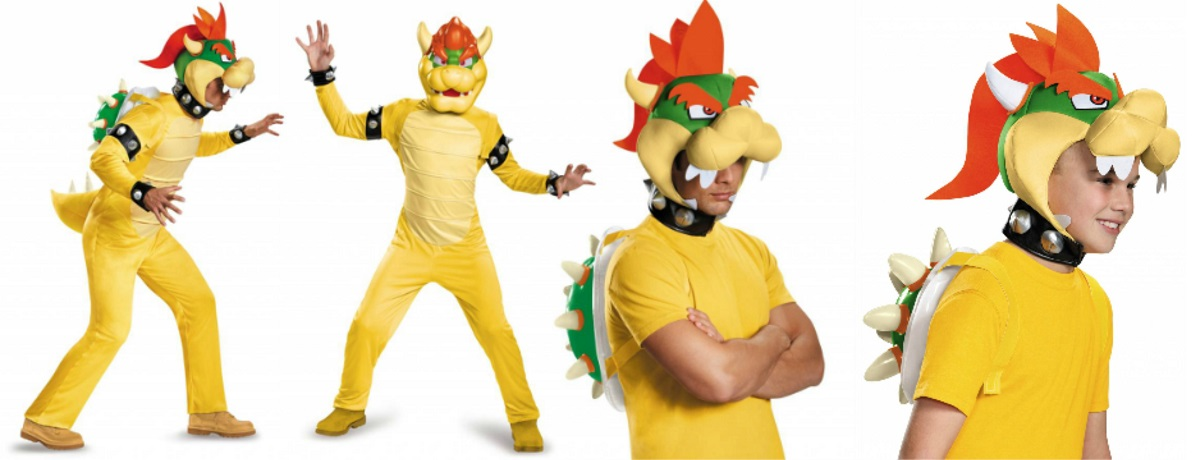 Bowser costumes