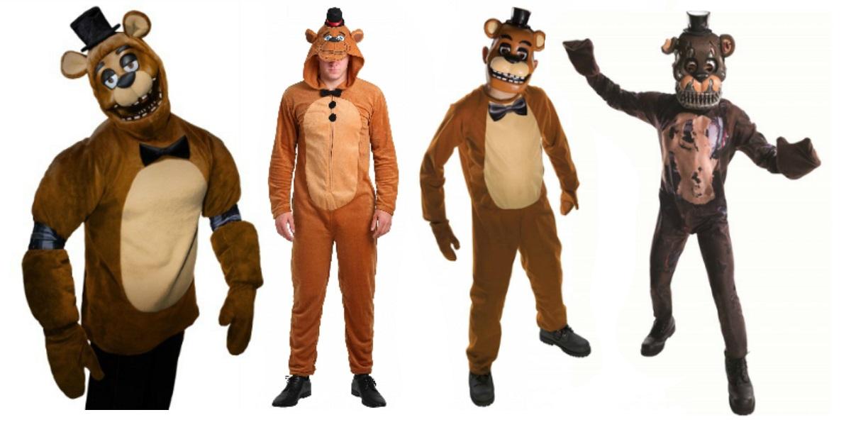 Freddy Fazbear costumes