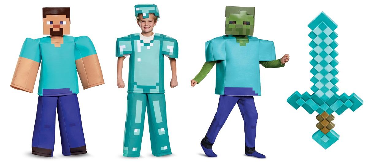 Minecraft Steve costumes