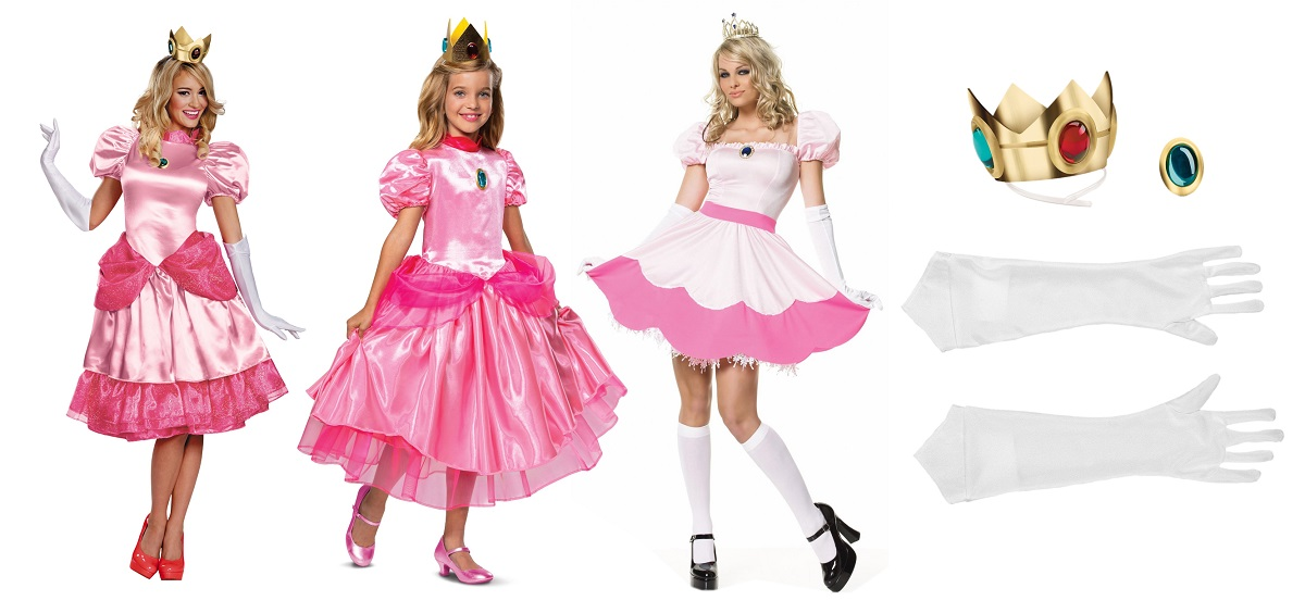 Princess Peach costumes