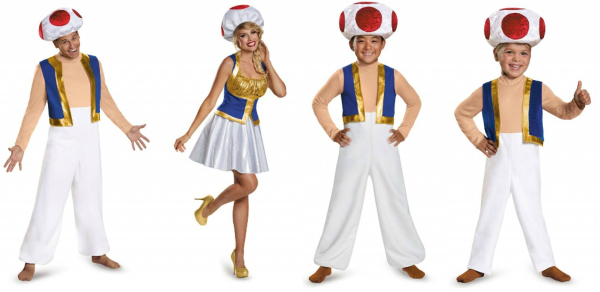 Toad costumes