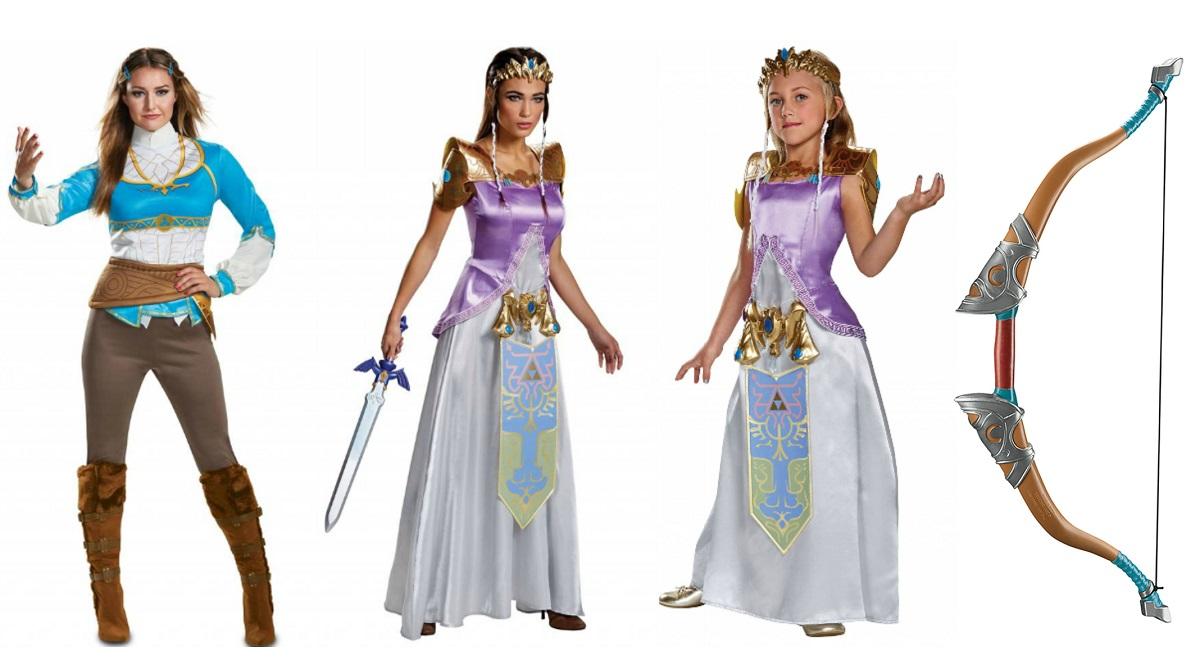 Princess Zelda costumes