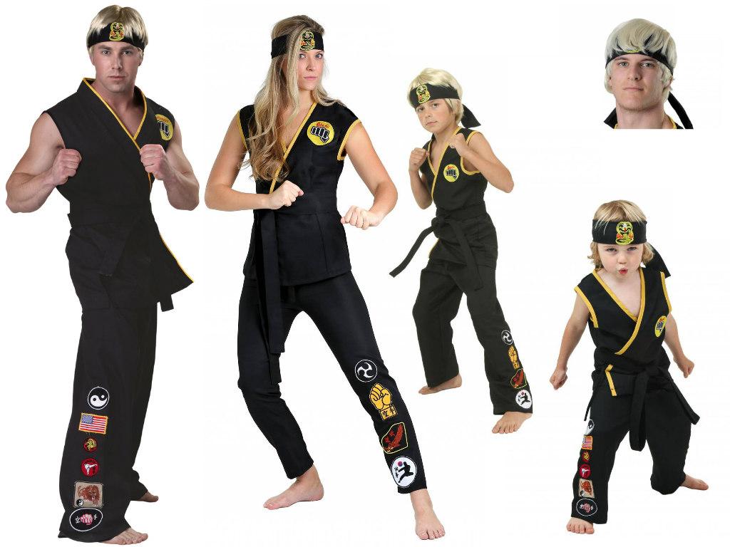 The Karate Kid Cobra Kai costumes