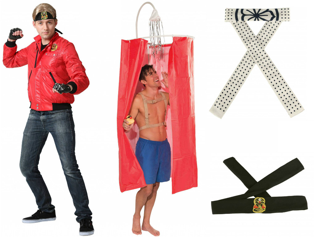 The Karate Kid headbands and costumes