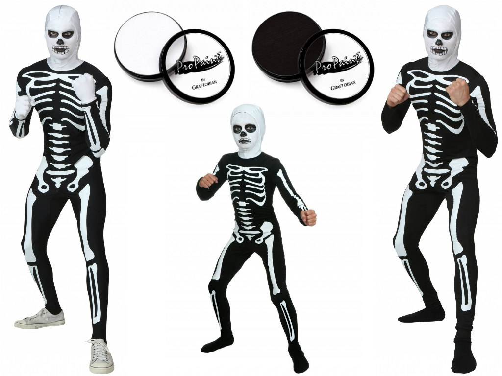 The Karate Kid skeleton costumes