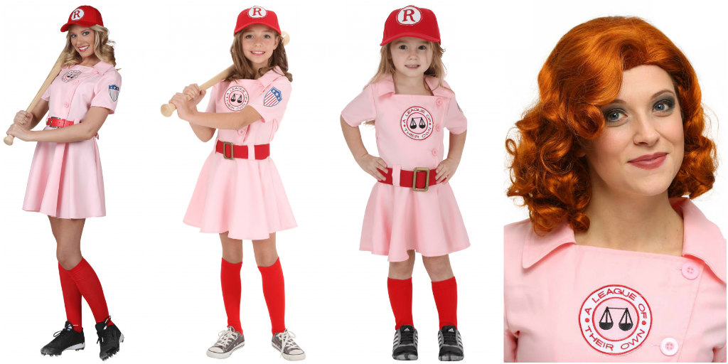 A League of Their Own Dottie costumes