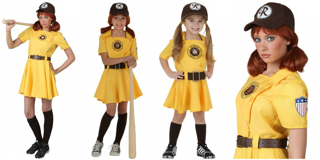 A League of Their Own Kit costumes