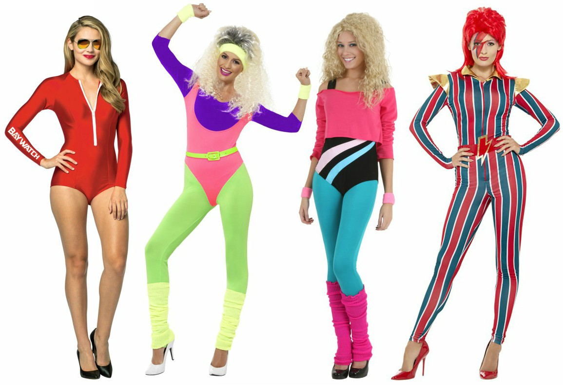 Gorgeous Ladies of Wrestling (GLOW) Costumes