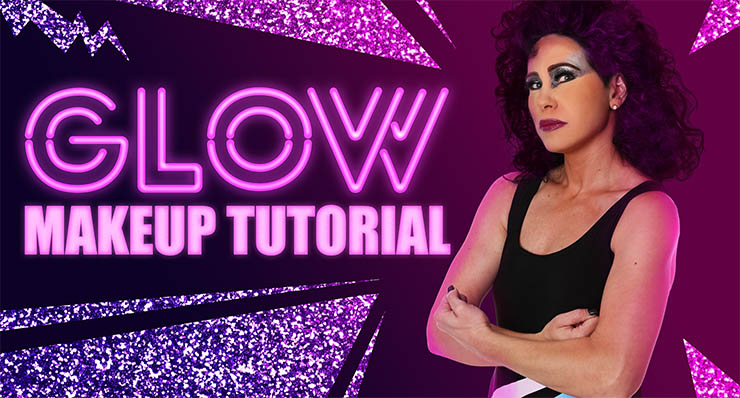 Gorgeous Ladies Of Wrestling (GLOW) Makeup Tutorial