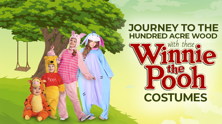 Journey to The Hundred Acre Wood With These Winnie the Pooh Costumes