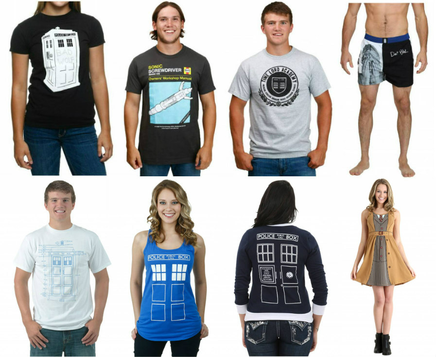 Doctor Who Clothing