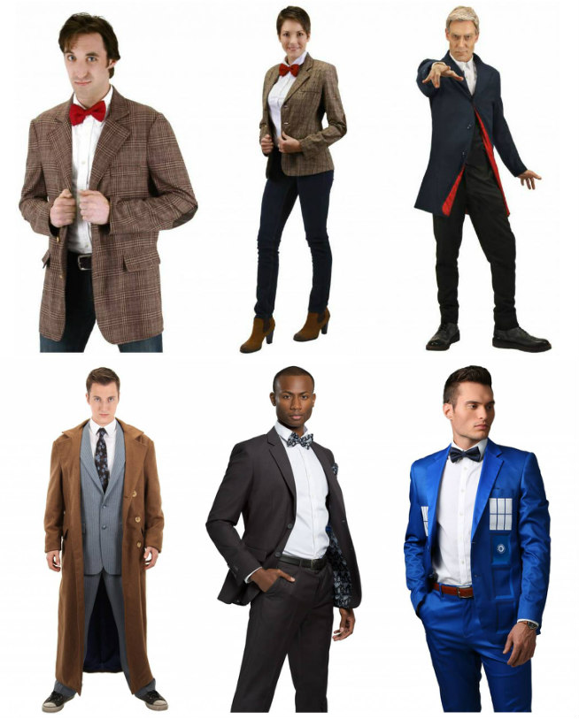 Doctor Who Jackets