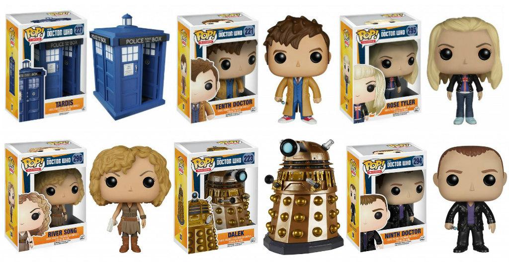doctor who pop vinyl figurines