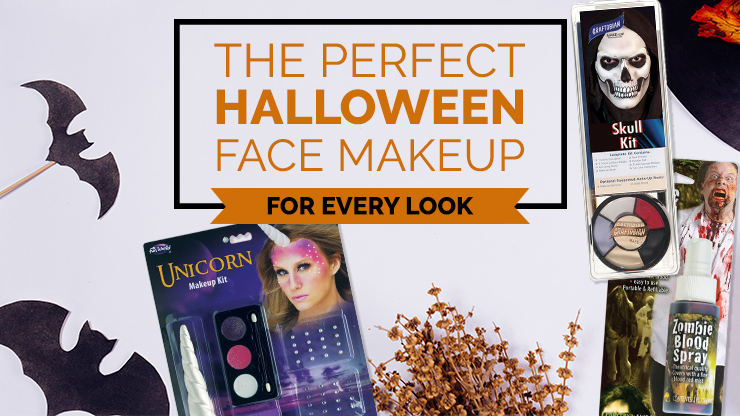 The Perfect Halloween Face Makeup For Every Look