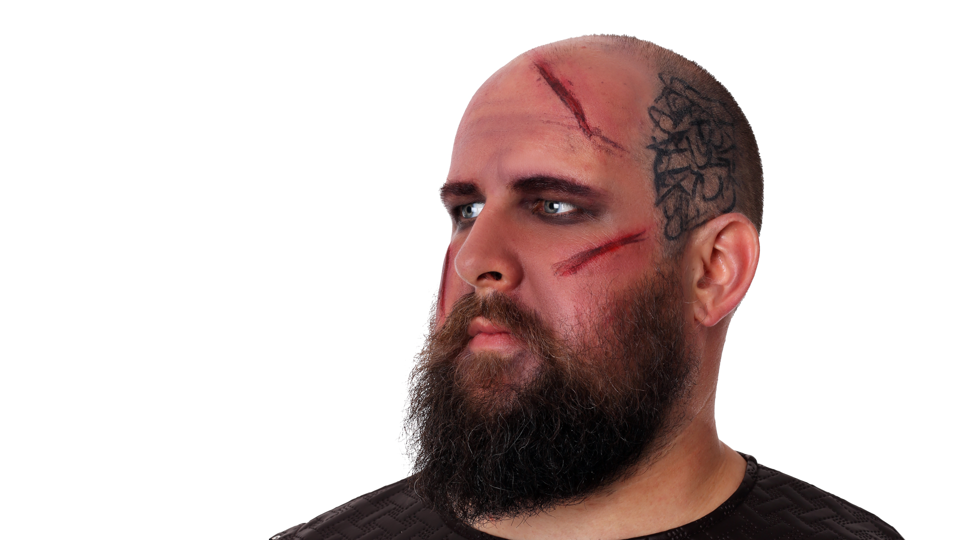 ragnar lothbrok tattoo makeup