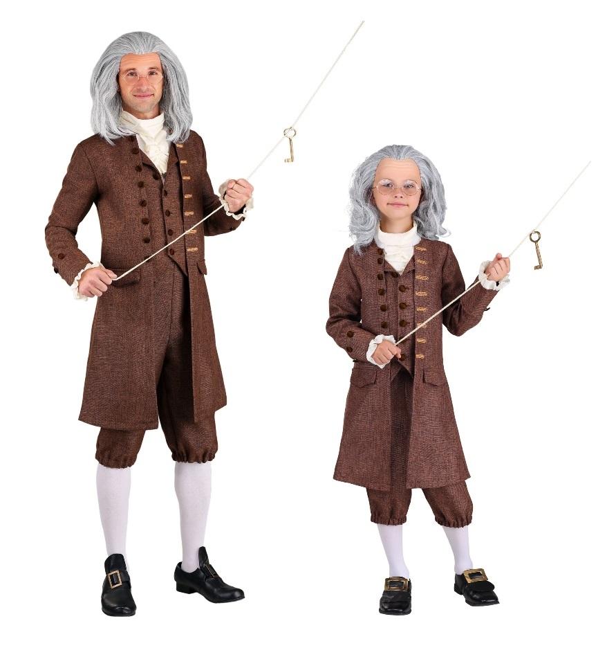 Benjamin Franklin Halloween Costumes