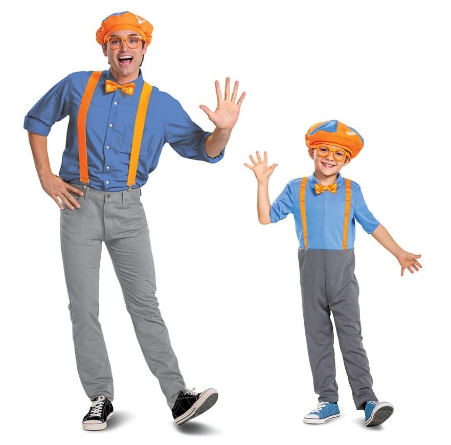 Blippi Halloween Costumes