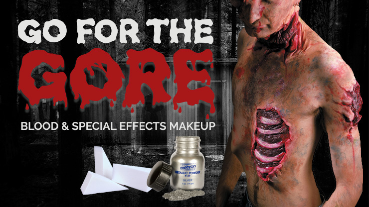Go for the Gore: Blood and Special Effects Makeup