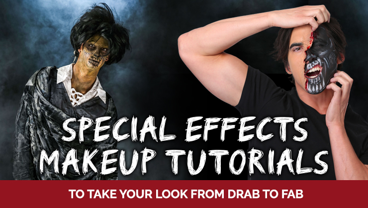Special Effects Makeup Tutorials to Take Your Look from Drab to Fab