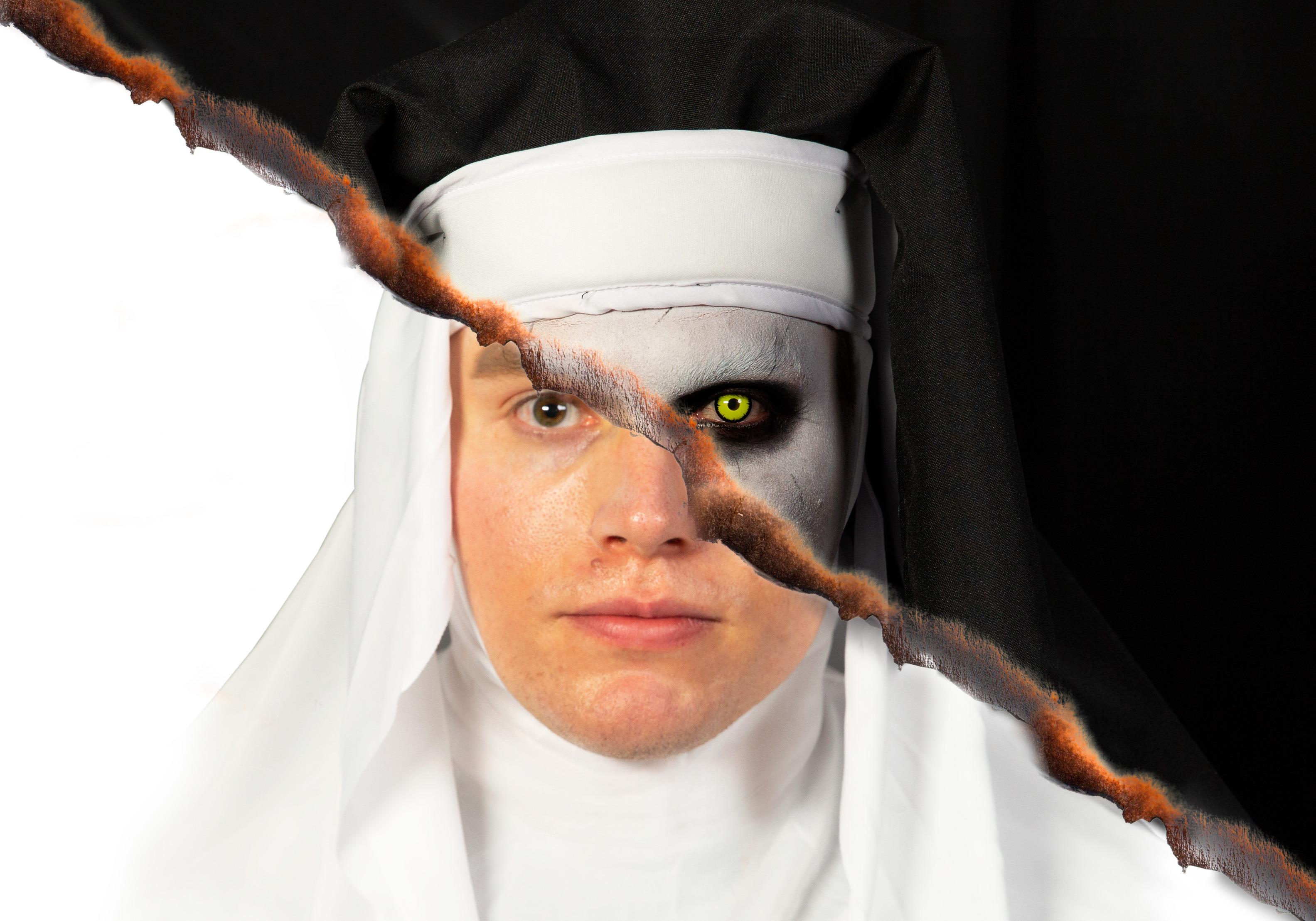 The Nun Valak Makeup Tutorial