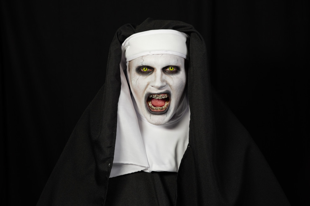 The Nun Finished Look