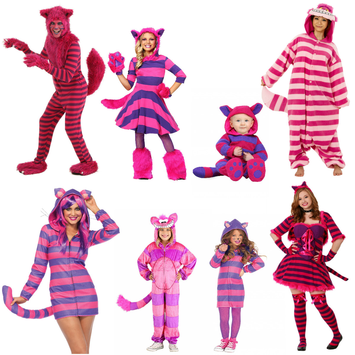 Mischievous Cheshire Cat Costumes