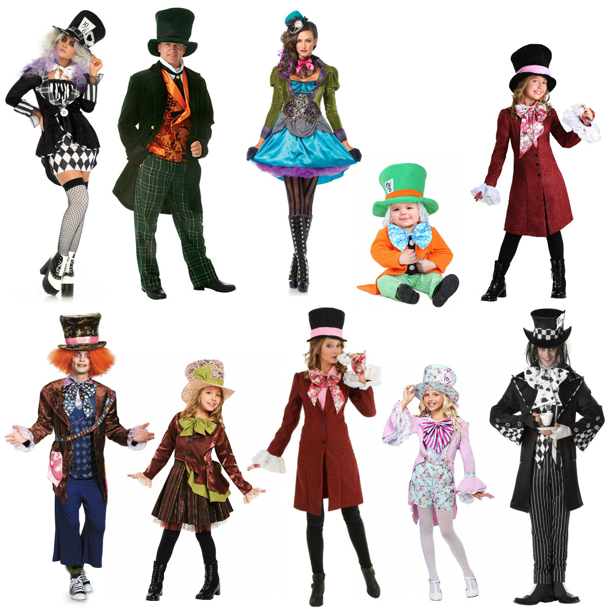 Popular Mad Hatter Costumes