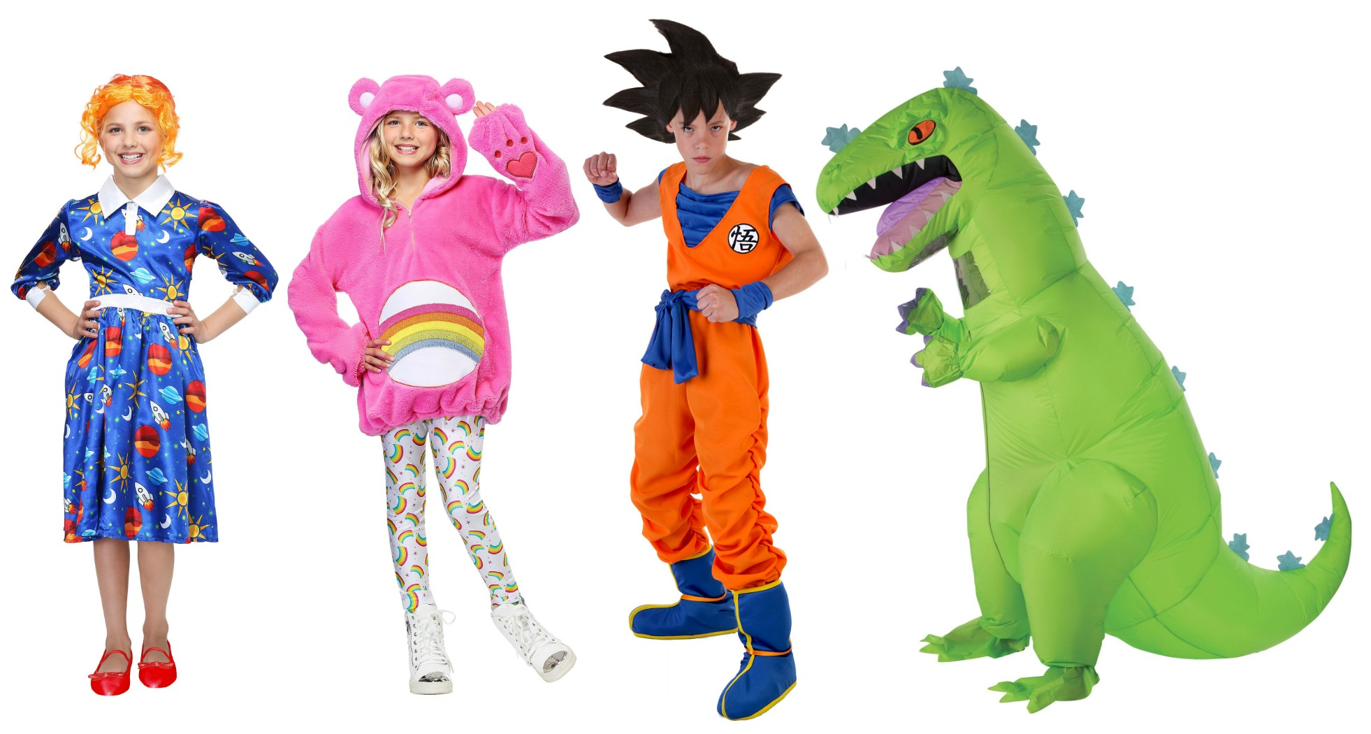 Nostalgic Tween Halloween Costumes