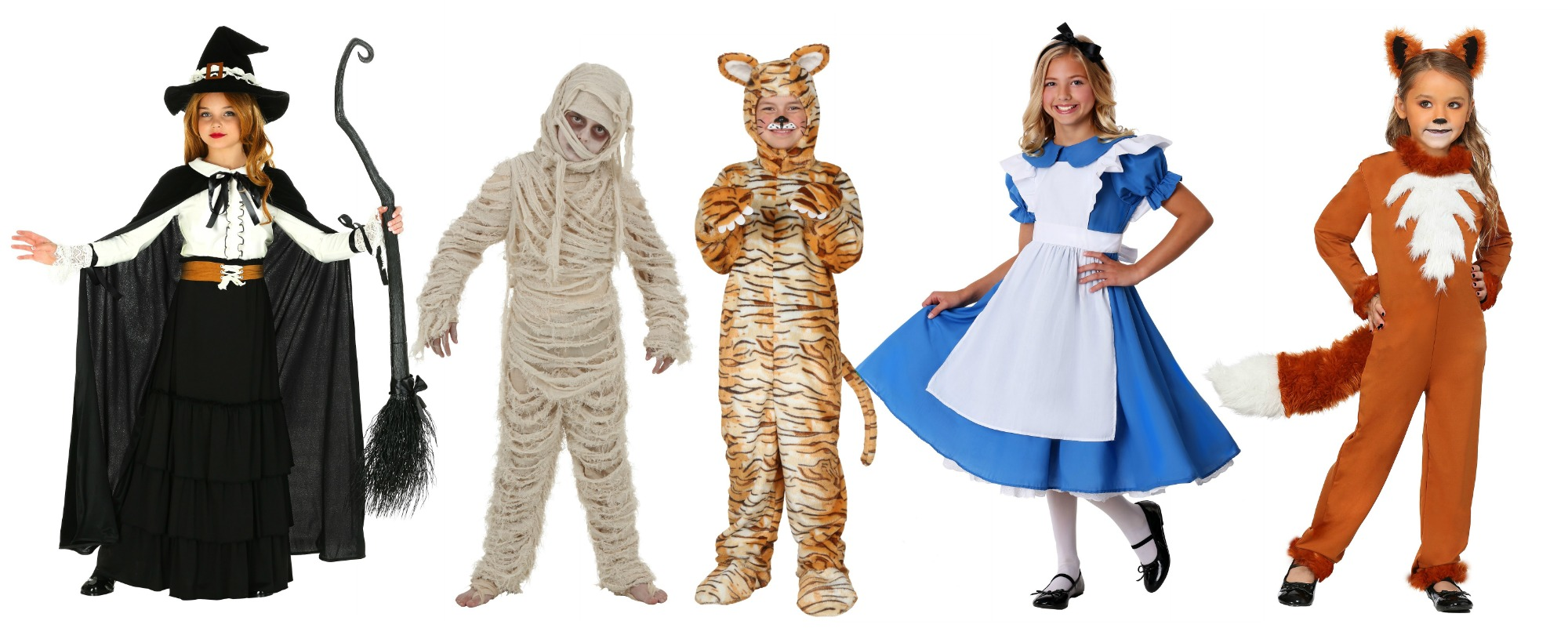 Classic Tween Halloween Costumes