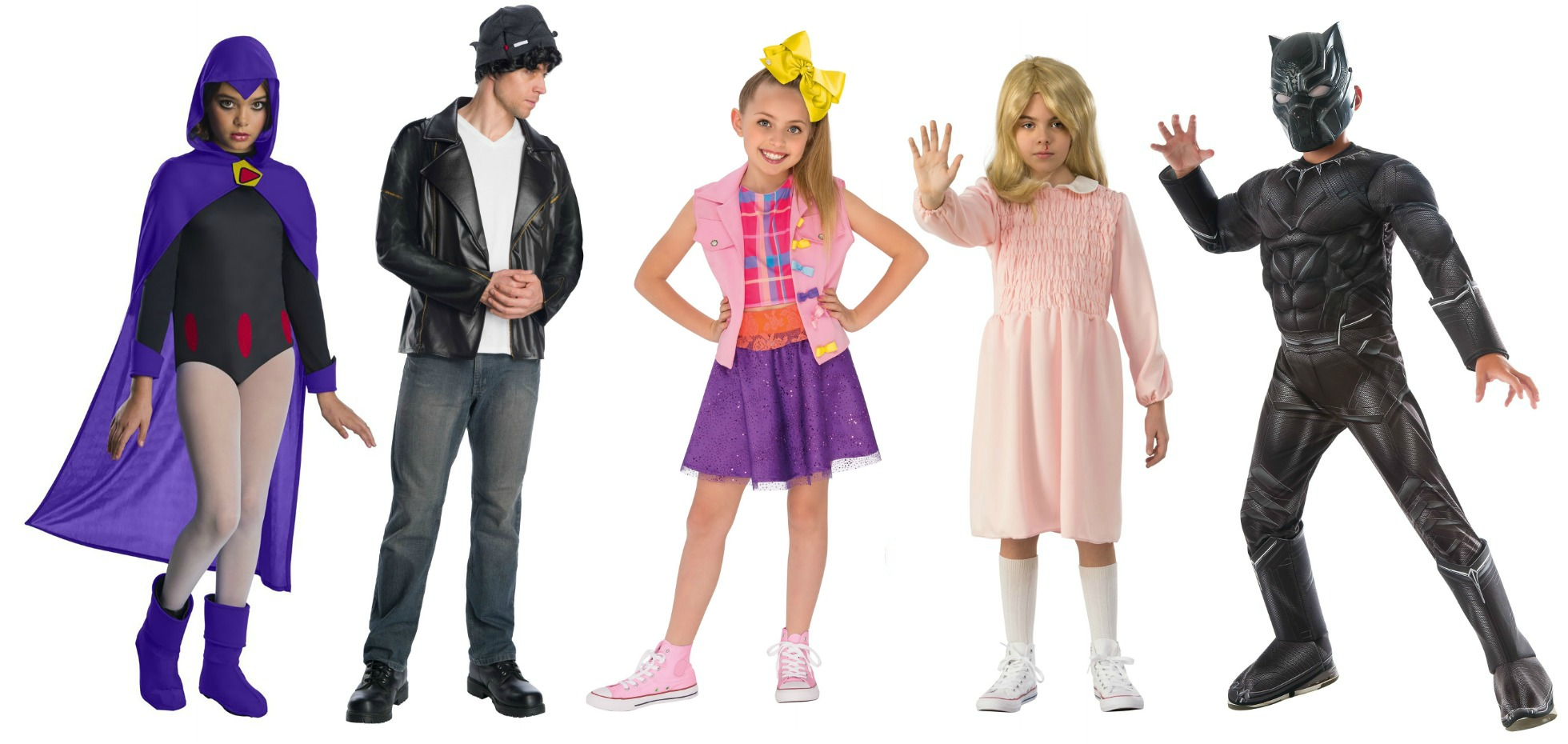 Pop Culture Tween Halloween Costumes