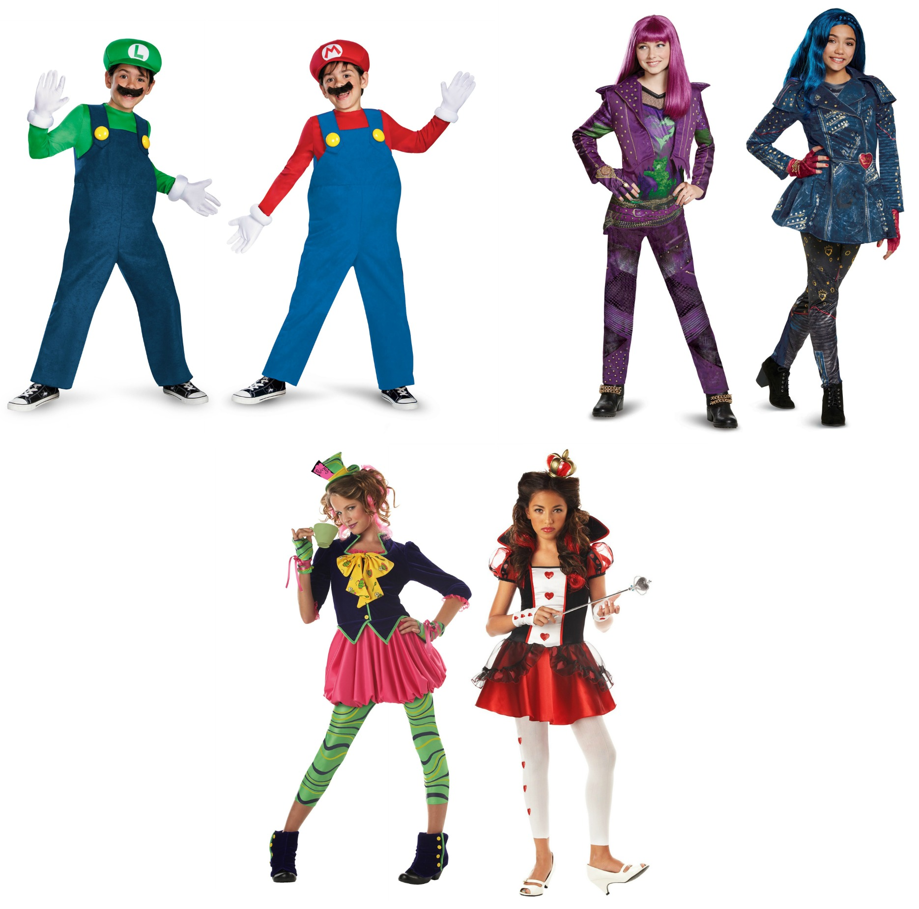 Group Halloween Costumes for Tweens