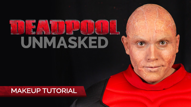 Deadpool Unmasked Makeup Tutorial
