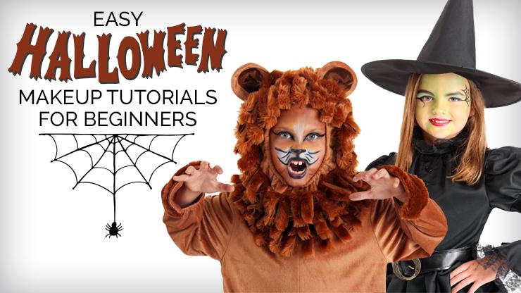 Easy Halloween Makeup Tutorials for Beginners , Halloween