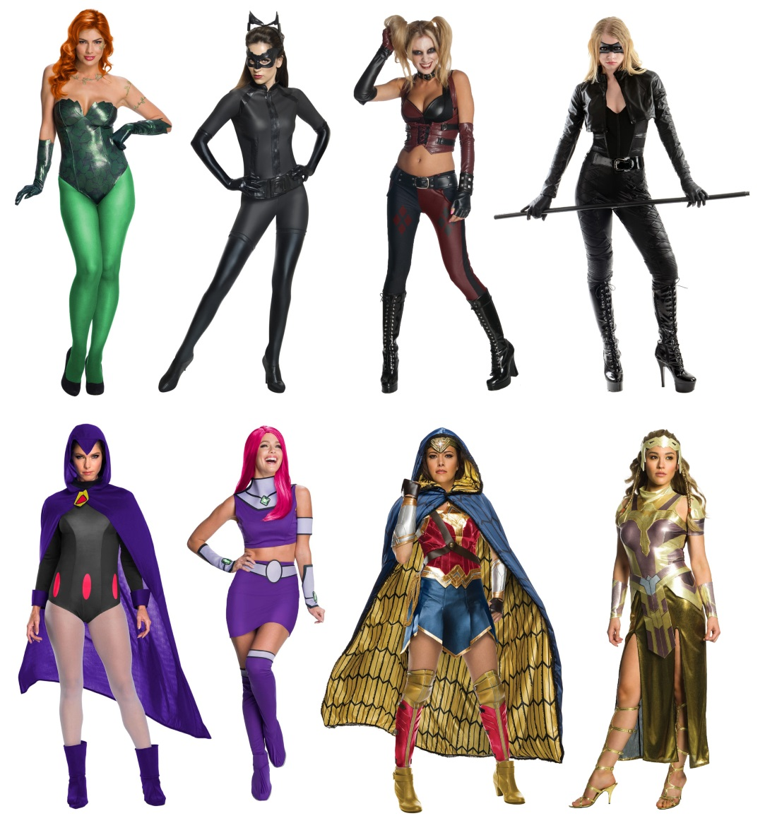 DC Comics Characters for Sisters