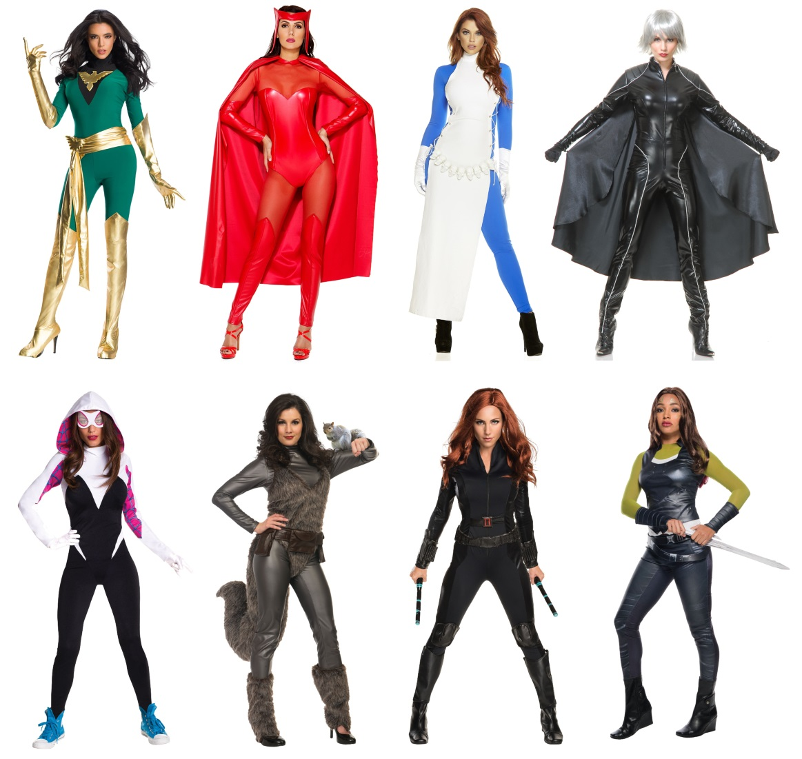 Marvel Comics Characters for Sisters