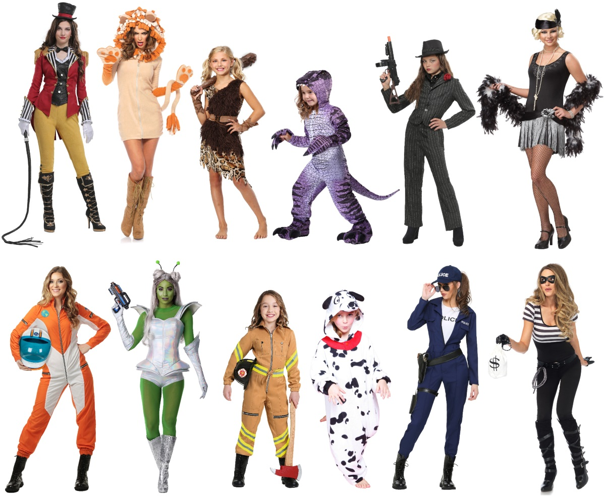 Other Fun and Random Sister Costume Ideas