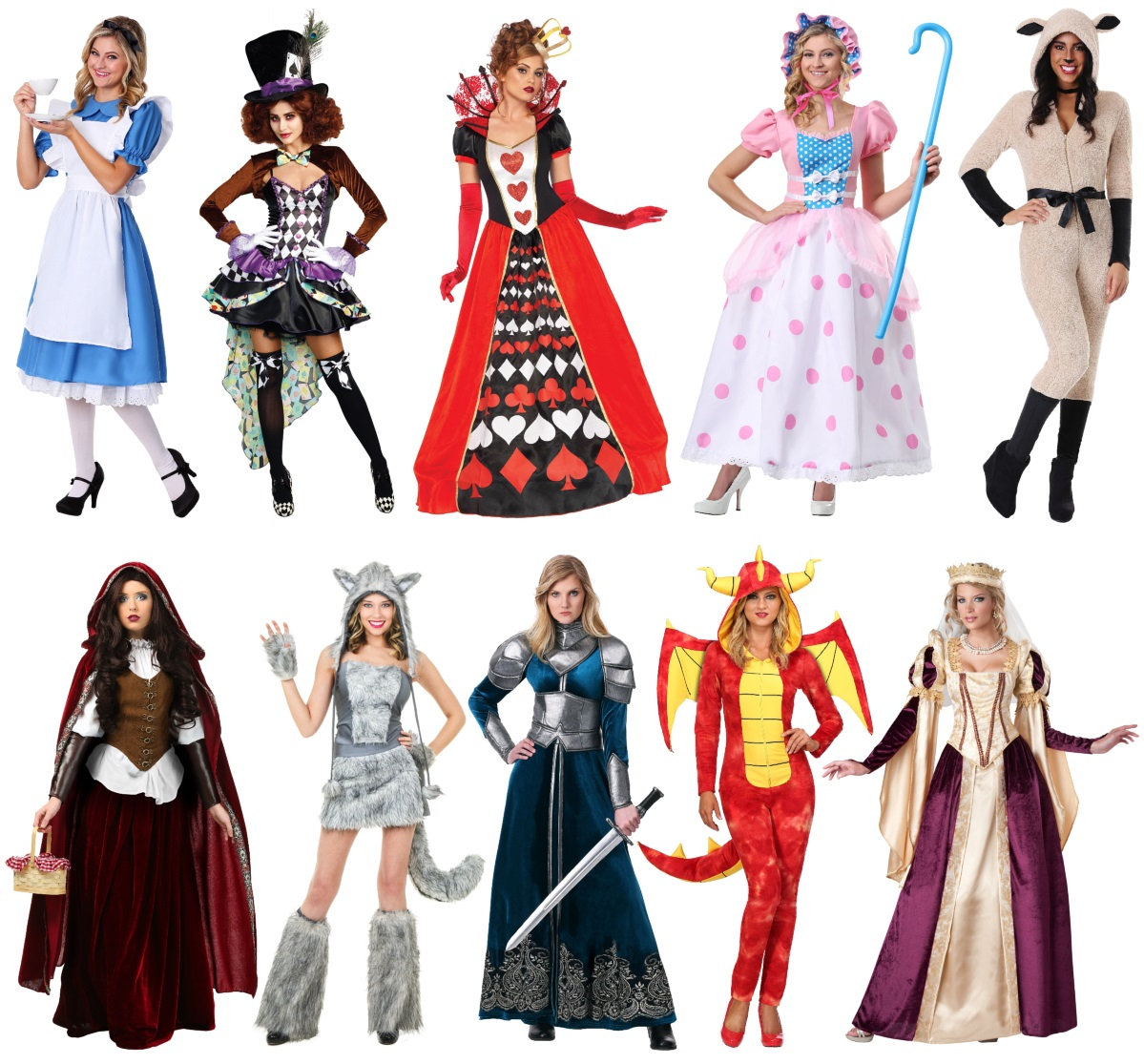 Story Book and Fairy Tale Costumes for Sisters