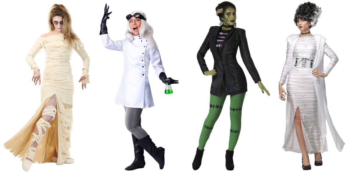 Classic Horror Costumes for Women