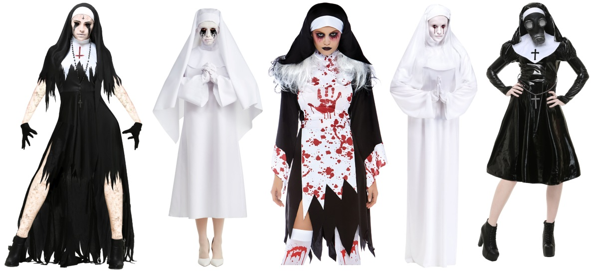 Scary Nun Costumes for Women