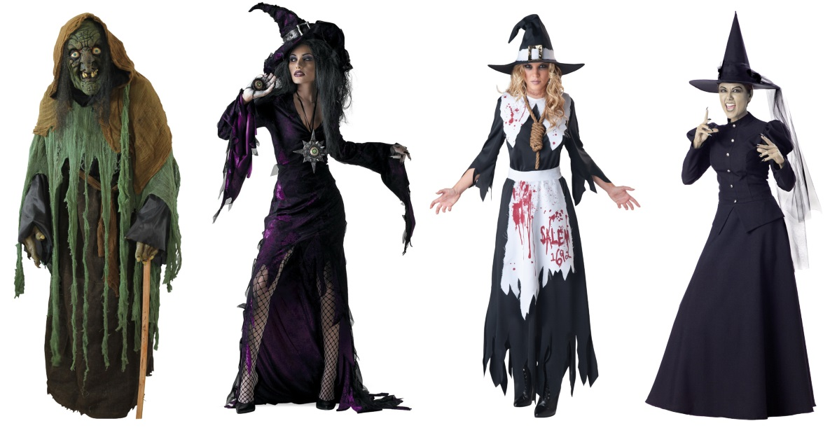 Scary Witch Costumes for Women