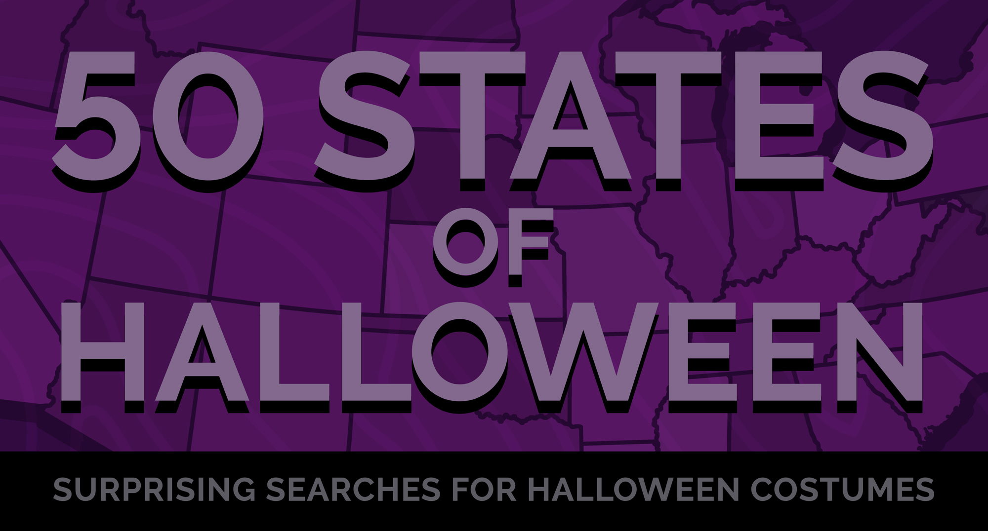 50 States of Halloween: Surprising Searches for Halloween Costumes
