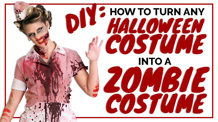 DIY: How to Turn Any Halloween Costume into a Zombie Costume