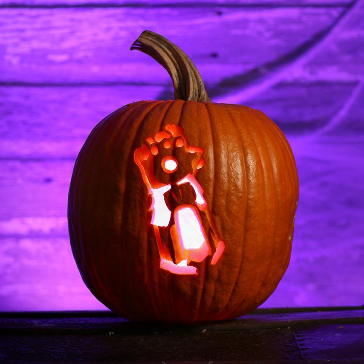 Pop Culture Pumpkins For 2018 Printables Halloweencostumes Com Blog