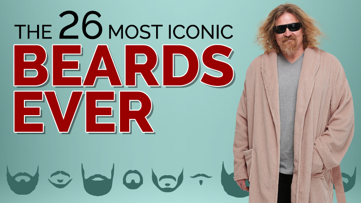 26 Most Iconic Beards Ever