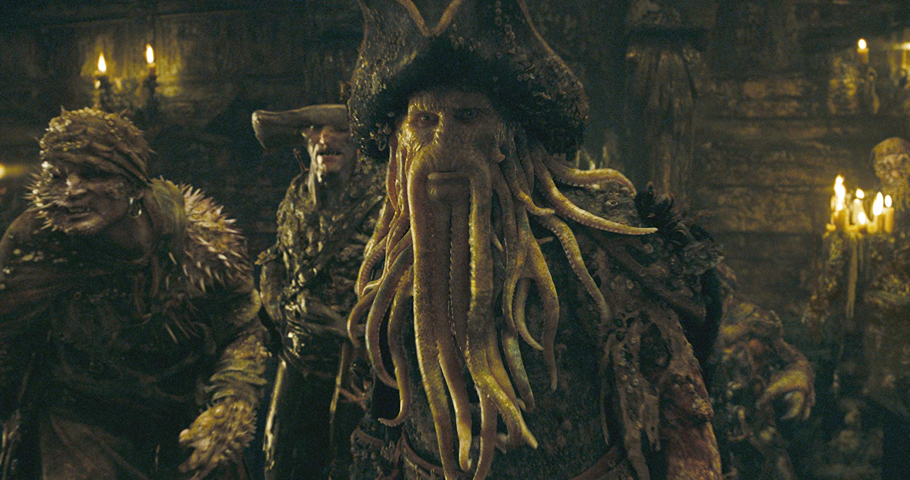 Davy Jones from The Pirates of the Caribbean