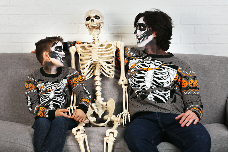 Skeleton Makeup for Adults & Kids