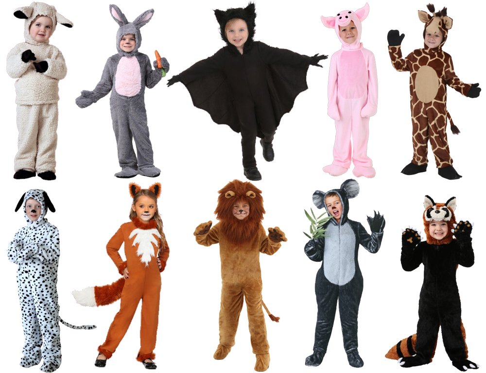 Animal Costumes for Cold Weather
