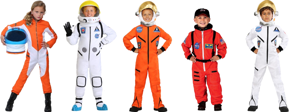 Astronaut Costumes for Cold Weather