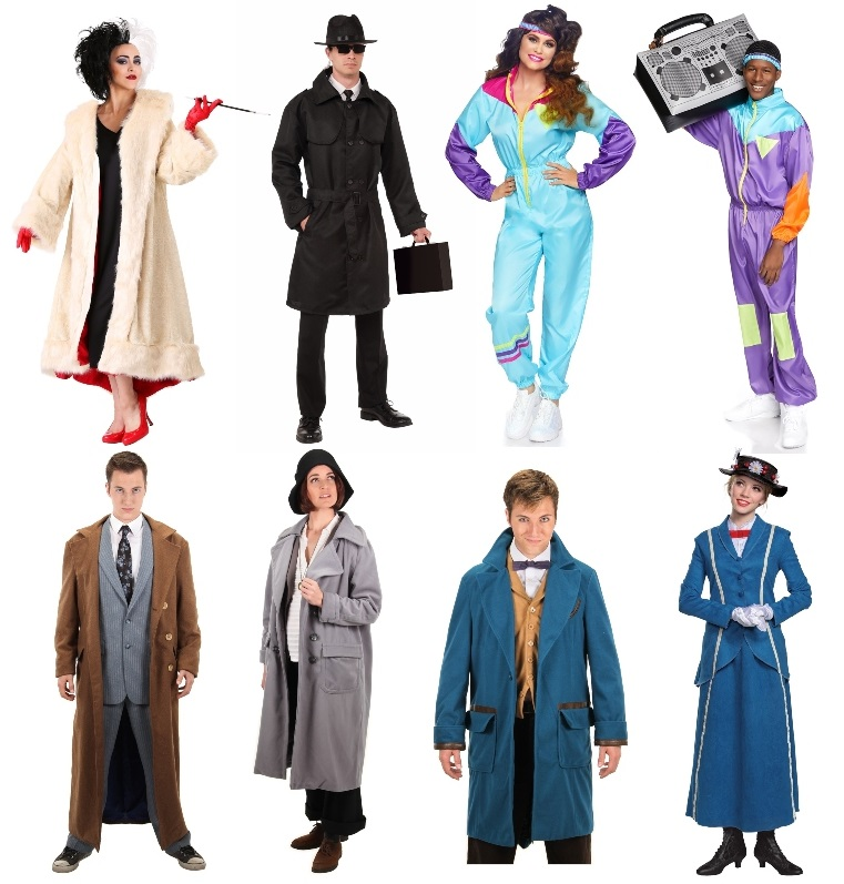 Cold Weather Costumes for Adults